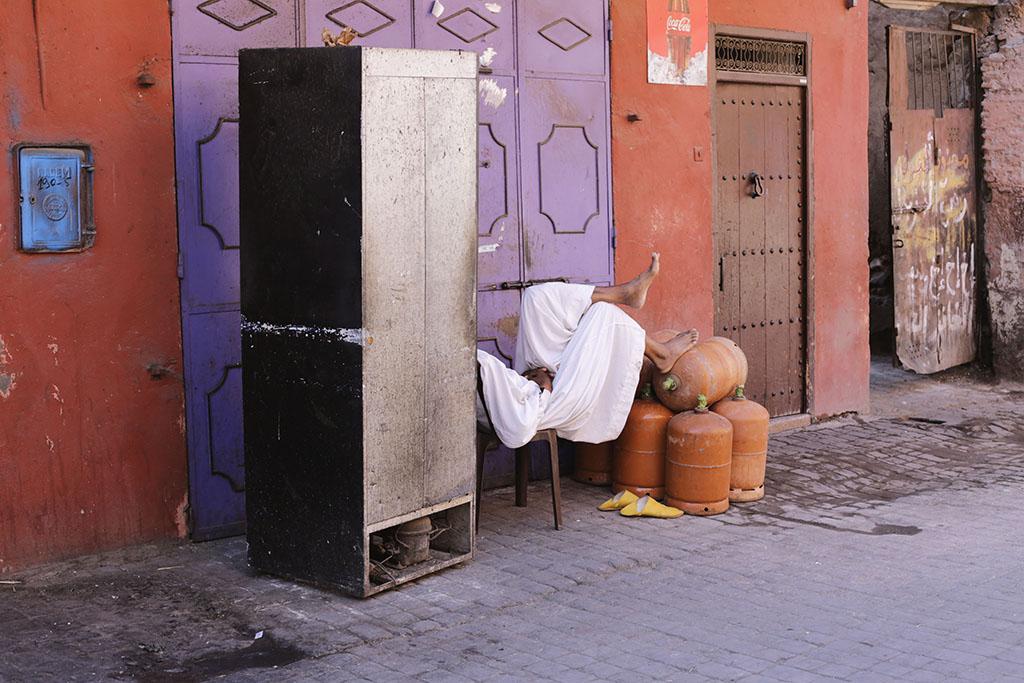 Rencontre avec Marrakech